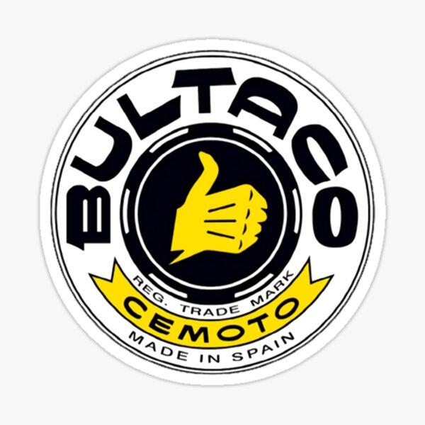 Logo Bultaco Pegatina