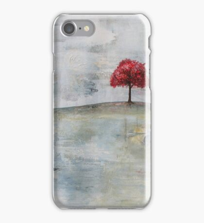 homage #1 to The Red Tree iPhone Case/Skin