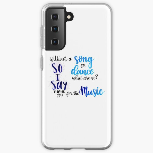 Thank You for the Music Samsung Galaxy Soft Case