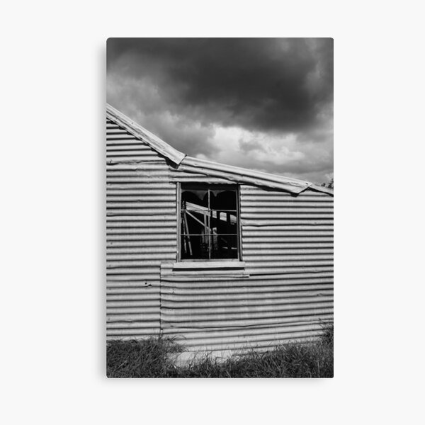 Old Shearing shed Canvas Print