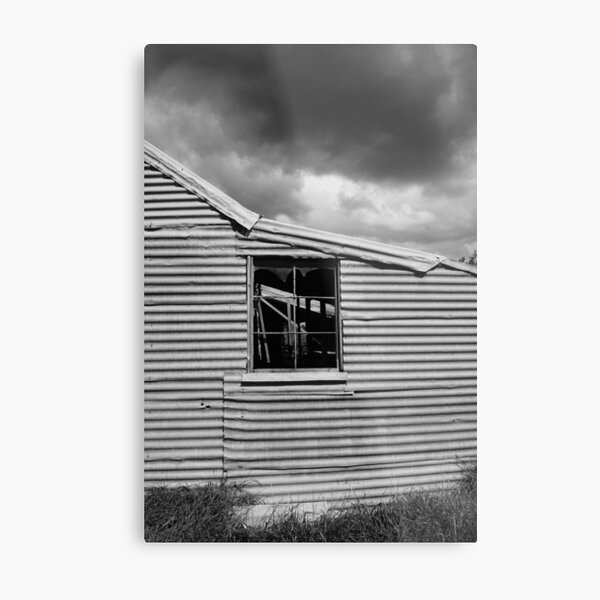 Old Shearing shed Metal Print
