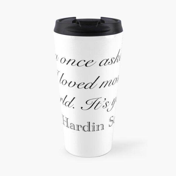 You once asked me... Travel Mug