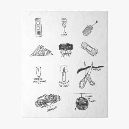MELODRAMA Art Board Print