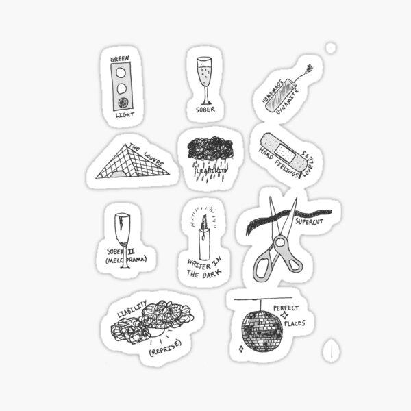 MELODRAMA Sticker