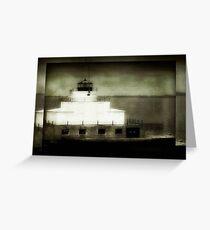 Manitowoc Breakwater Lighthouse ©  Greeting Card