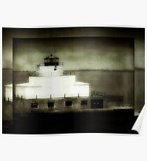 Manitowoc Breakwater Lighthouse ©  Poster