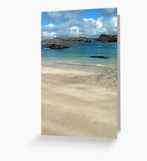View from Handa Island to Tarbet Greeting Card