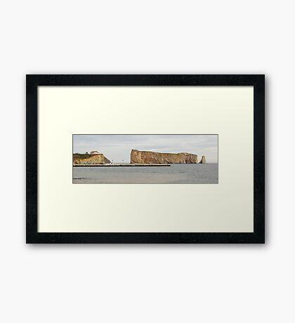Rocher Percé Framed Print