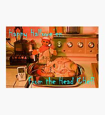 The Head Chef Photographic Print