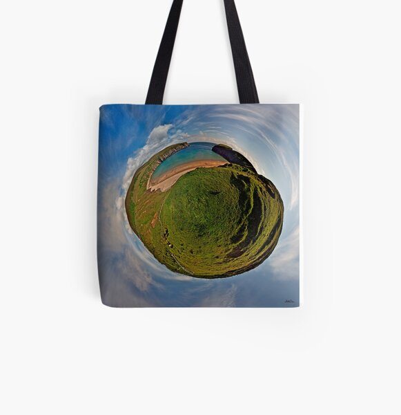 Silver Strand Beach, Malin Beg, South Donegal All Over Print Tote Bag