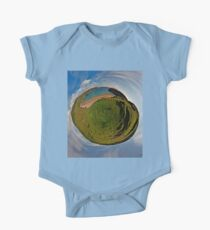 Silver Strand Beach, Malin Beg, South Donegal One Piece - Short Sleeve