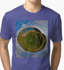 Silver Strand Beach, Malin Beg, South Donegal Tri-blend T-Shirt