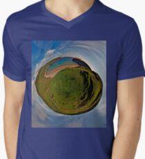 Silver Strand Beach, Malin Beg, South Donegal Men's V-Neck T-Shirt
