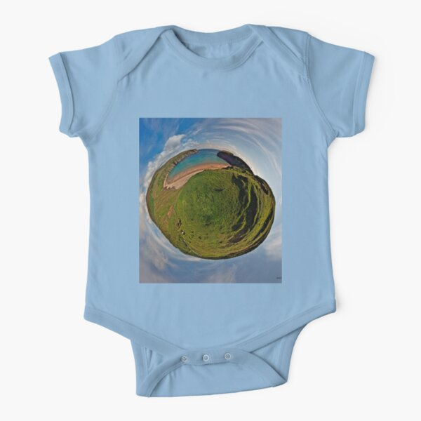 Silver Strand Beach, Malin Beg, South Donegal Short Sleeve Baby One-Piece