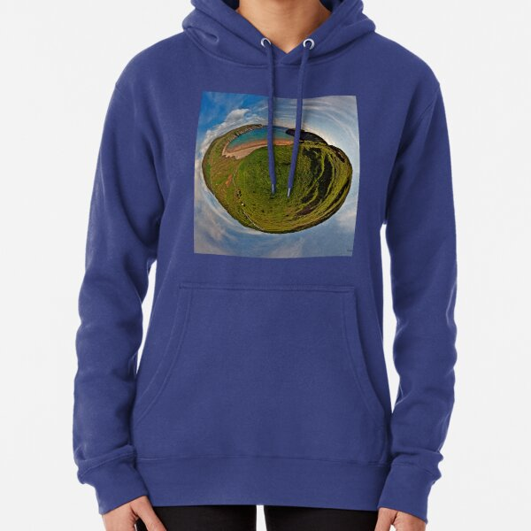 Silver Strand Beach, Malin Beg, South Donegal Pullover Hoodie