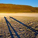 Desert shadowglyphs... by Allan  Erickson