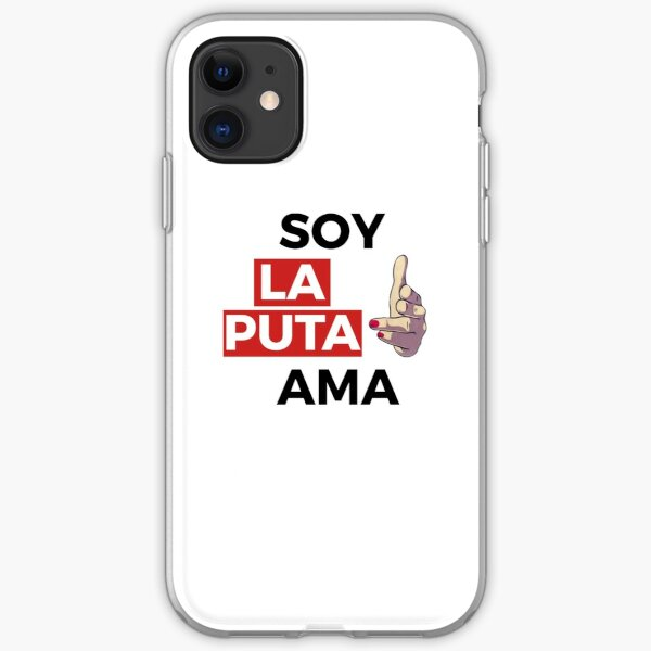 Soy La Puta Ama - Nairobi iPhone Soft Case