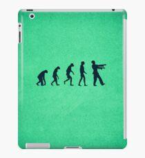 Evolution of Zombies (Zombie Walking Dead) iPad Case/Skin