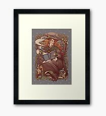 NOUVEAU FOLK WITCH Framed Print
