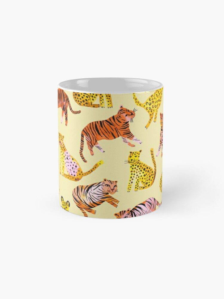 Alternate view of Tigers and Leopards Africa Savannah Mug