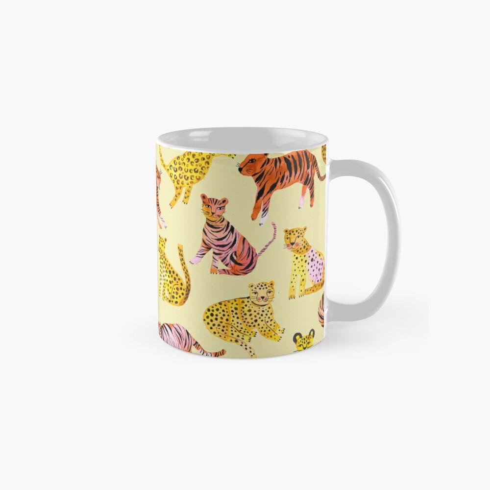 Tigers and Leopards Africa Savannah Mug