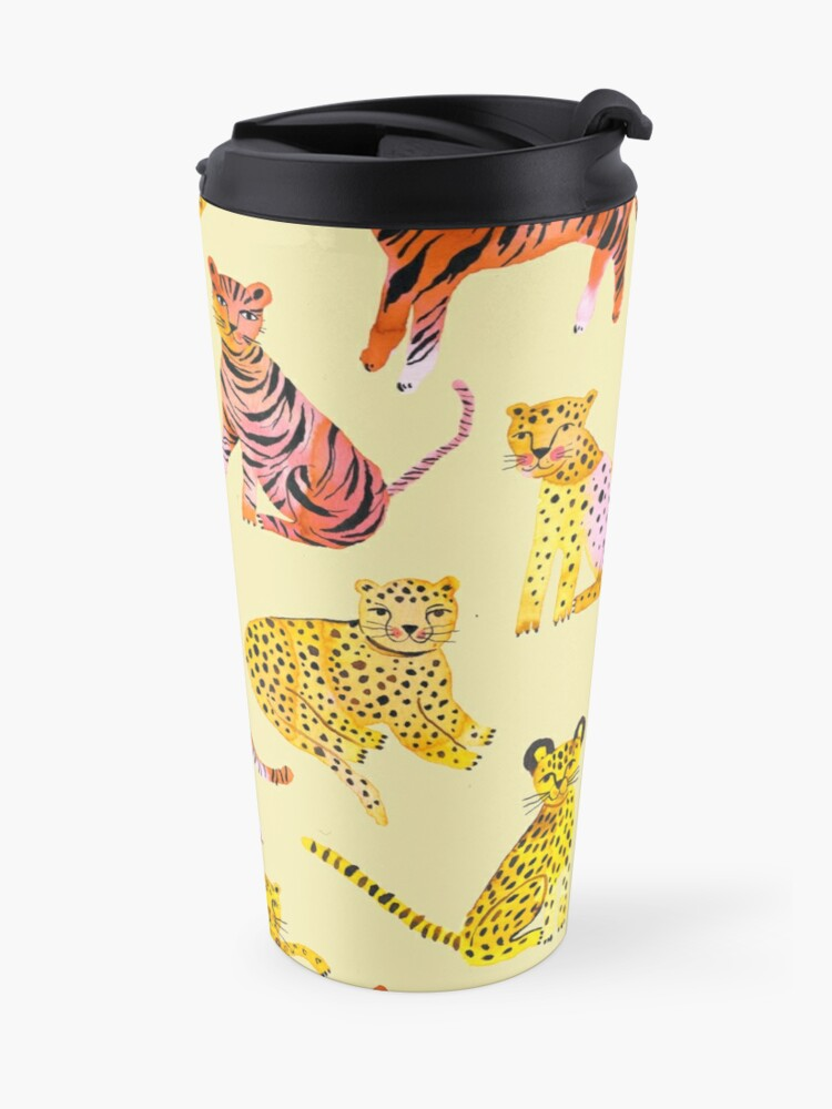 Alternate view of Tigers and Leopards Africa Savannah Travel Mug