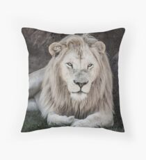 King of Beasts Throw Pillow