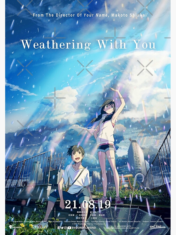 Weathering With You Greeting Card By Hiphopboys Redbubble