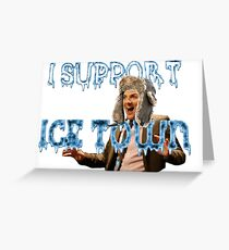 Ice Town Greeting Card
