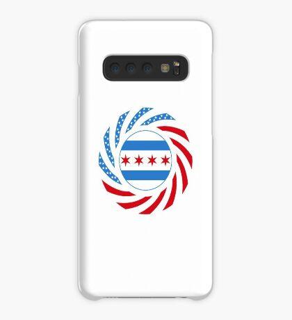 Chicago Murican Patriot Flag Series Case/Skin for Samsung Galaxy
