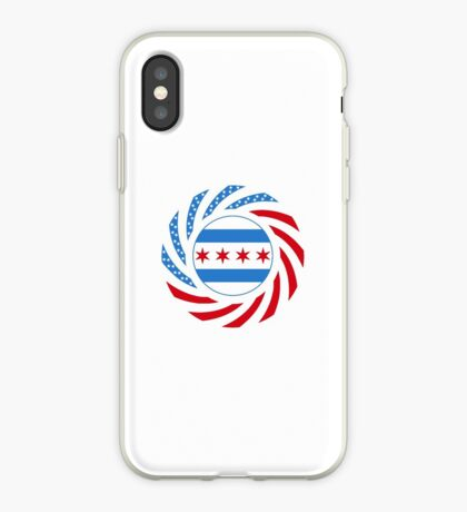Chicago Murican Patriot Flag Series iPhone Case