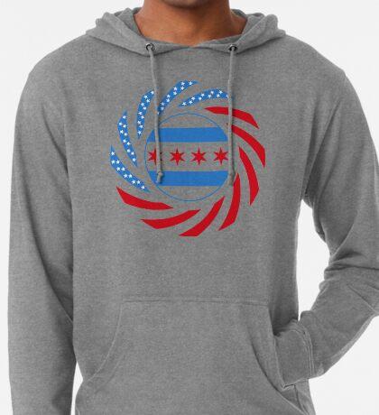 Chicago Murican Patriot Flag Series Lightweight Hoodie