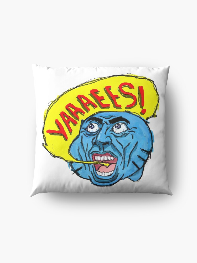 Alternate view of Gumball don't go crazy please! Floor Pillow