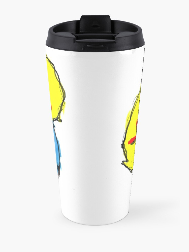 Alternate view of Gumball don't go crazy please! Travel Mug