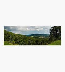 Blue Ridge Parkway Panoramic Photographic Print