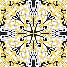 Tribal mystic pattern by printmesomecolo