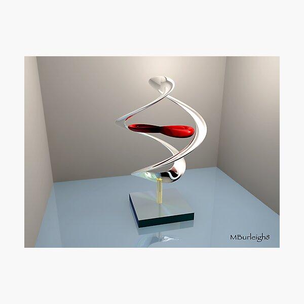 Virtual sculpture 3 Photographic Print