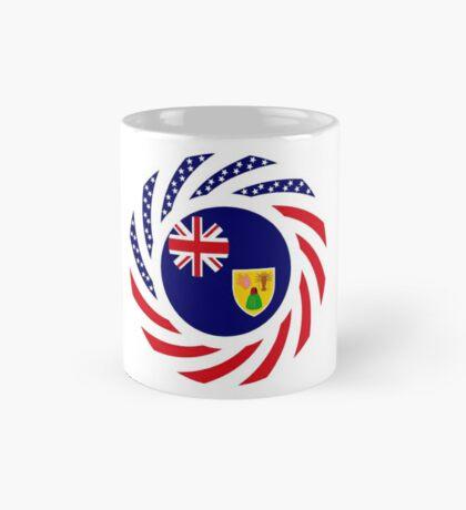 Turks & Caicos Islander American Multinational Patriot Flag Series Mug
