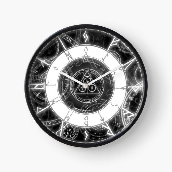Viking Runes Clock