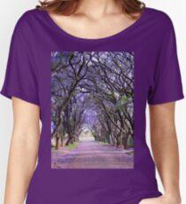 It is purple in Cullinan Women's Relaxed Fit T-Shirt