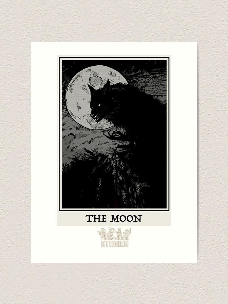 Alternate view of The Moon Art Print