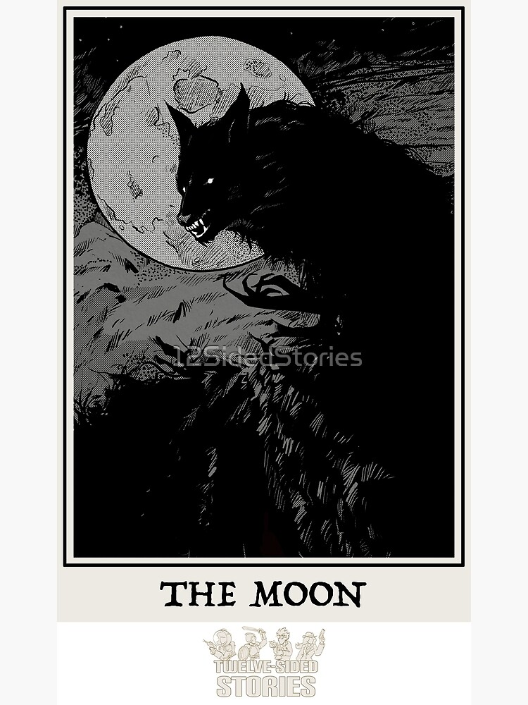 The Moon by 12SidedStories