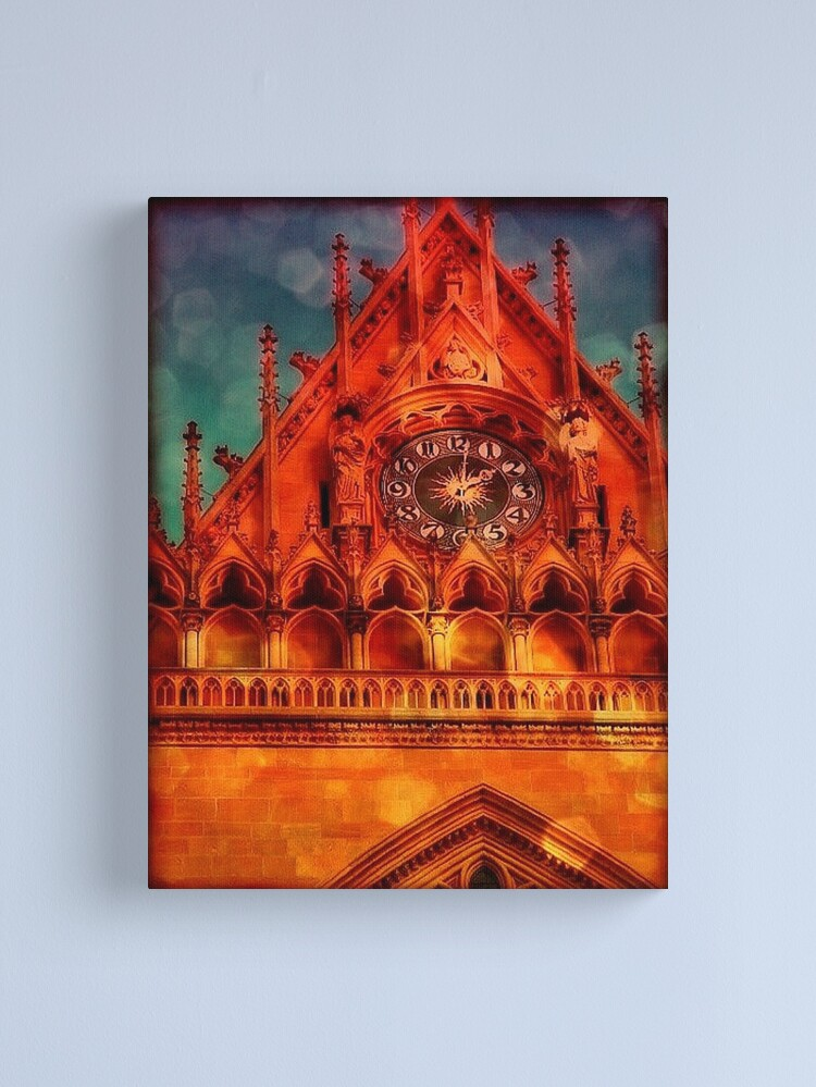Alternate view of Lost in Time Canvas Print