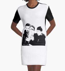 Swan Jones Family  Graphic T-Shirt Dress