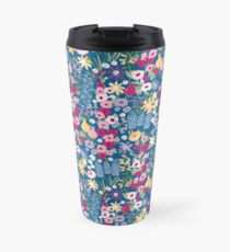 Pretty Cottage Garden Travel Mug