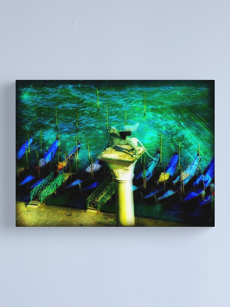 Alternate view of Il Temporale Canvas Print