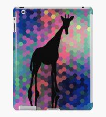 Geometric Giraffe Current Trend Bright  iPad Case/Skin