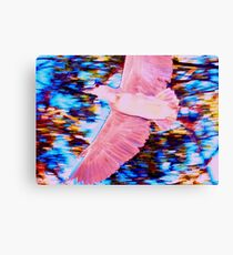 Bird in flight abstract Canvas Print