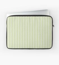 Contemporary Green Print Laptop Sleeve