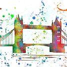 London Bridge, Großbritannien von Marlene Watson